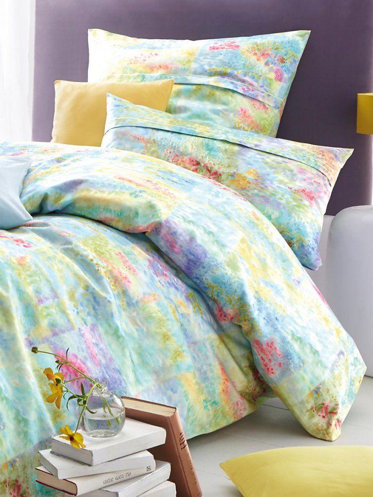 Elegantebettwäschegarnitur Ca 155X200Cmaquamulticolor von Peter Hahn Bettwäsche Bild