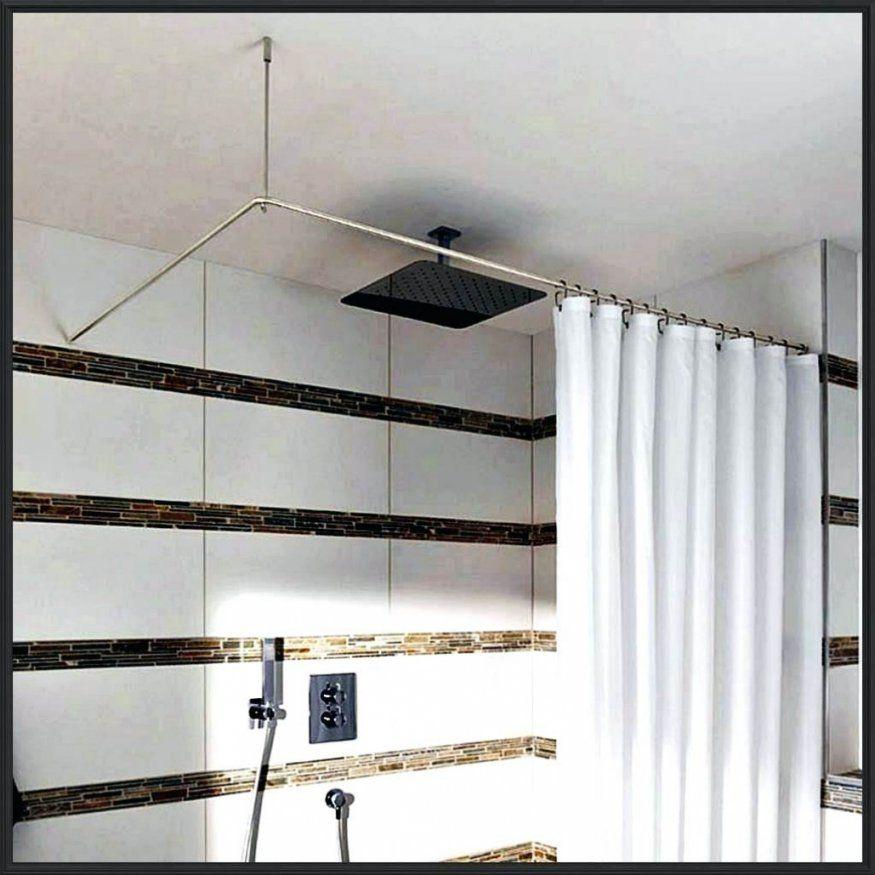 Elegantes Duschvorhangstange U Form Duschvorhangstange von Duschvorhangstange L Form Badewanne Photo