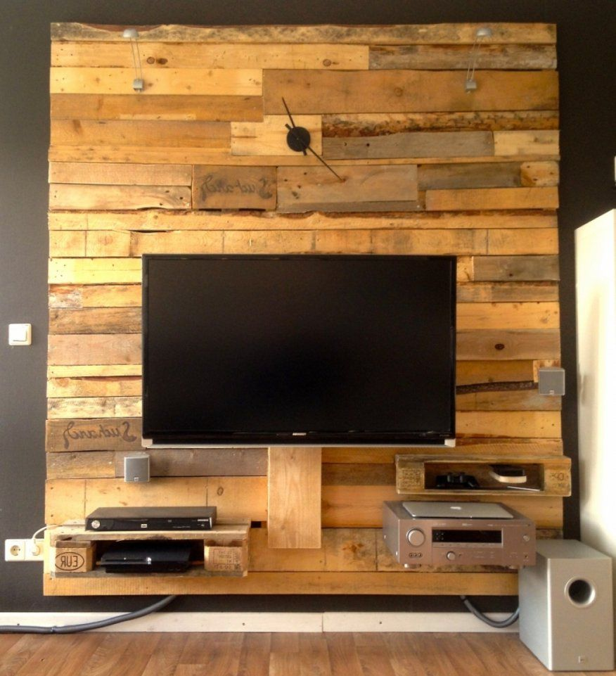 Elegantes Ideen Tv Wand  Elegant Tv Wand Selber Bauen von Tv Wand Selber Bauen Ideen Bild