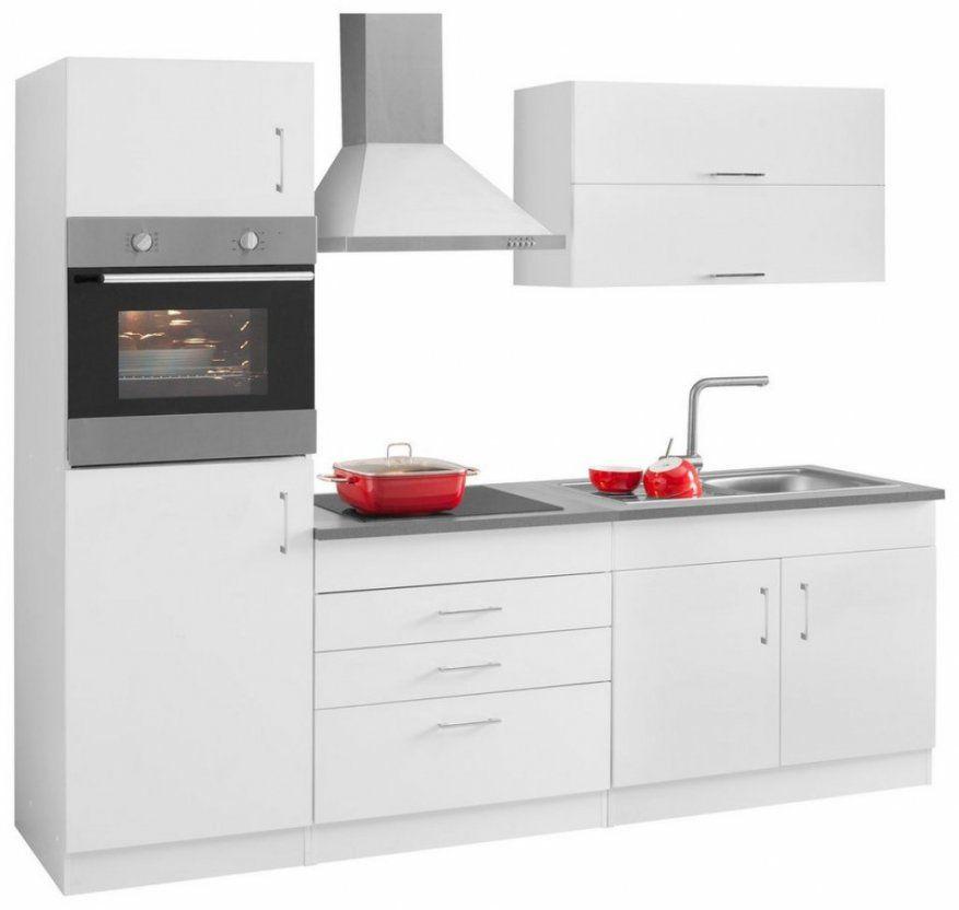 Elegantes Küchenzeile 240 Cm Kchenzeile 230 Cm Finest Finest Cool von Küchenzeile 240 Cm Mit Kühlschrank Bild
