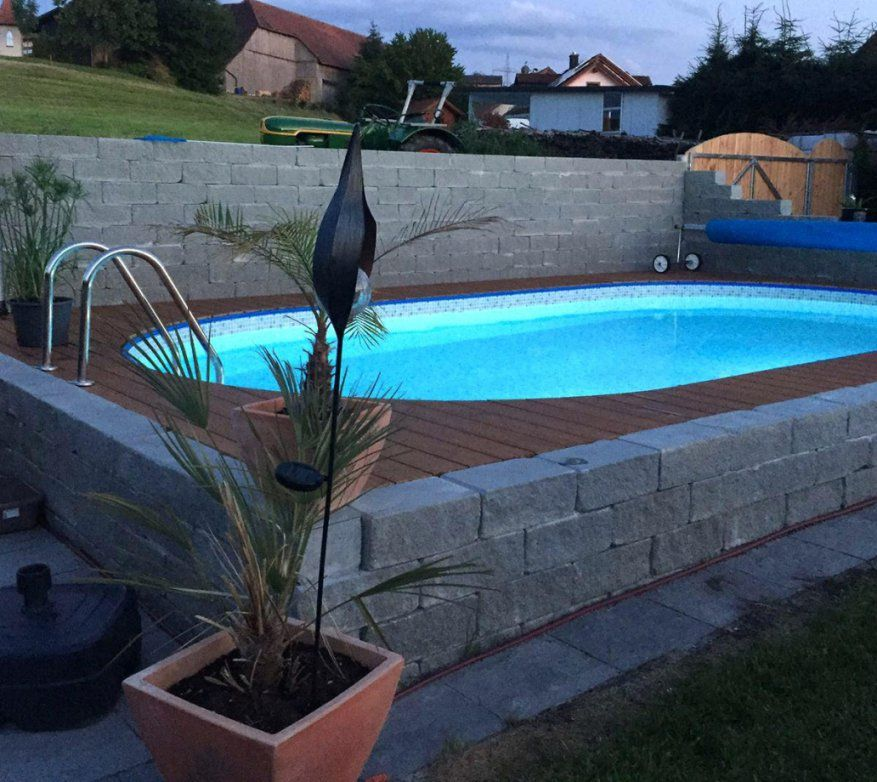 Elegantes Pool Selber Bauen Paletten Pool Selber Mauern von Pool Aus Paletten Selber Bauen Photo