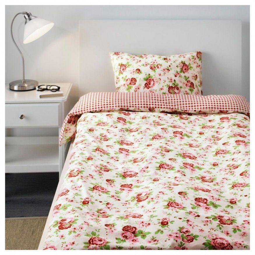 Elegantes Rosen Bettwäsche Ikea Rosali Bettwscheset 2 Teilig Von