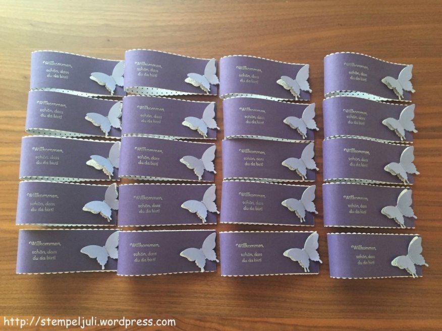 Elegantes Tischdeko Taufe Selber Machen Servietten Manschetten von Tischdeko Taufe Selber Basteln Bild
