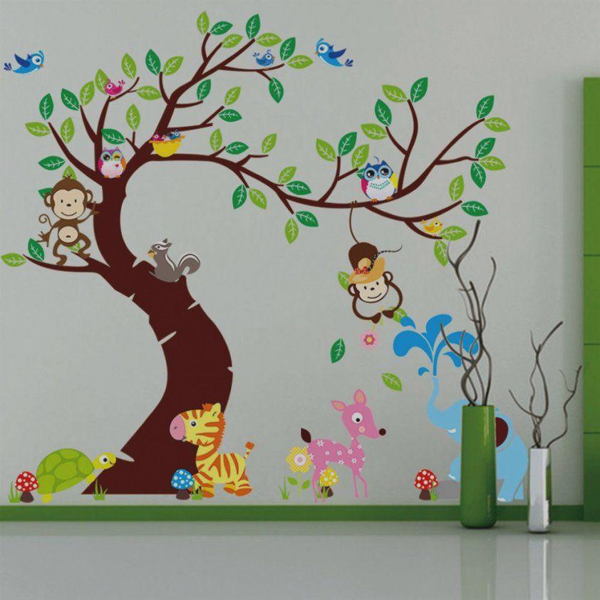 Babyzimmer w nde gestalten malen motiv vorlagen haus - Babyzimmer wande gestalten ...