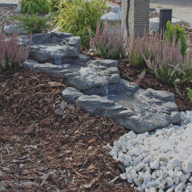 Elegantes Unikat Bachlauf Fr Gartenteich Selber Bauen Garten Von Wasserfall Gartenteich  Selber Bauen Bild