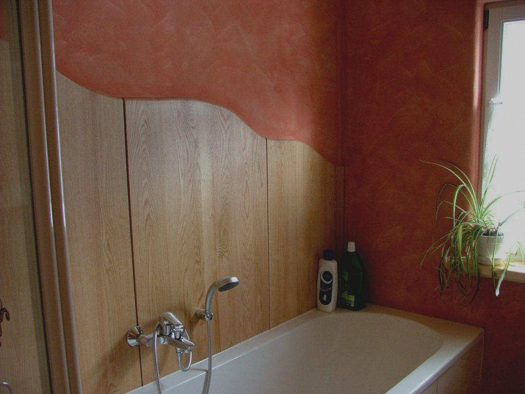 Elegantes Unikat Bad Wandgestaltung Ohne Fliesen Erstaunlich An Der von Badezimmer Wandgestaltung Ohne Fliesen Photo