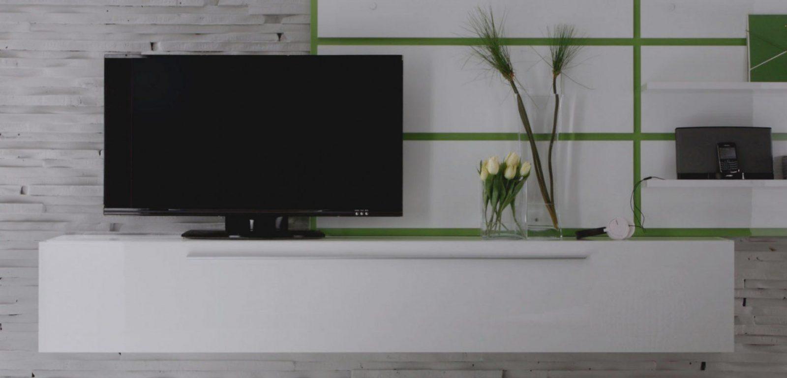 Elegantes Unikat Design Tv Lowboard Hochglanz Board Laura In Weiß von Lowboard Weiß Hochglanz Hängend Photo