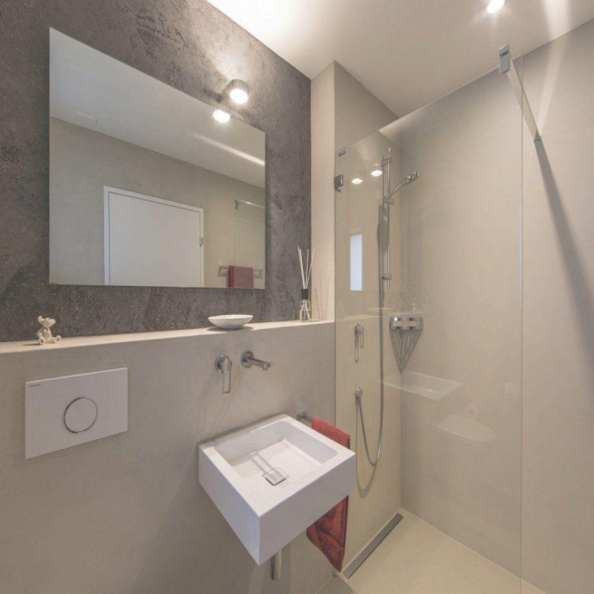Badezimmer Wandgestaltung Ohne Fliesen Haus Design Ideen