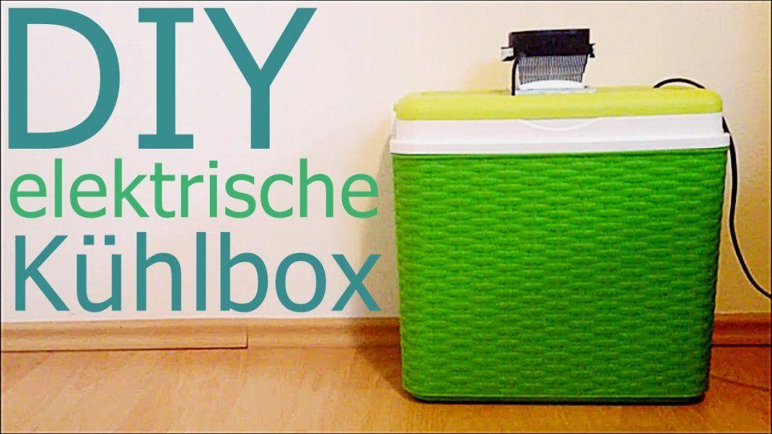 Elektrische Kühlbox Selber Bauen  Youtube von Peltier Element Kühlbox Selber Bauen Photo