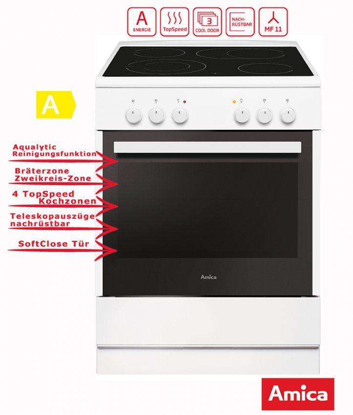 Elektro Standherd  Standherde  Kochen & Backen  Deal For Less von Amica Standherd Shc 11595 Photo