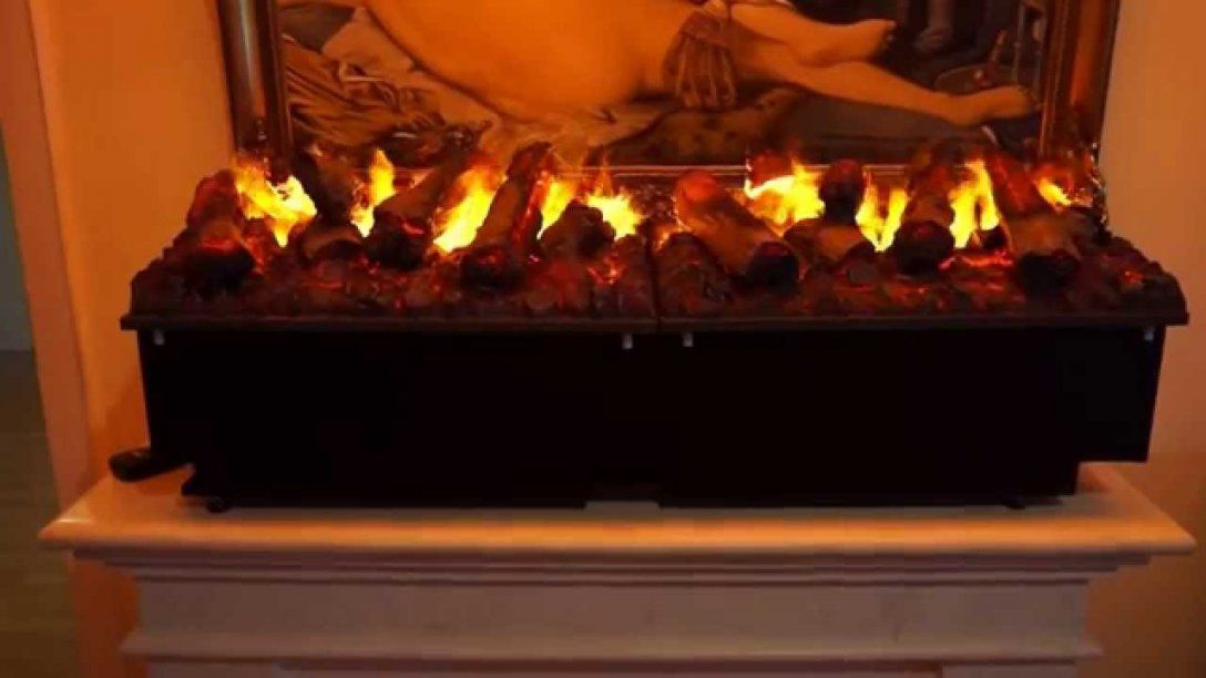 Elektrofeuer E 2850 Xxl Mit 3D Wasserdampf Von Gebrüder Garvens von Elektrokamine Mit Wasserdampf Feuer Bild