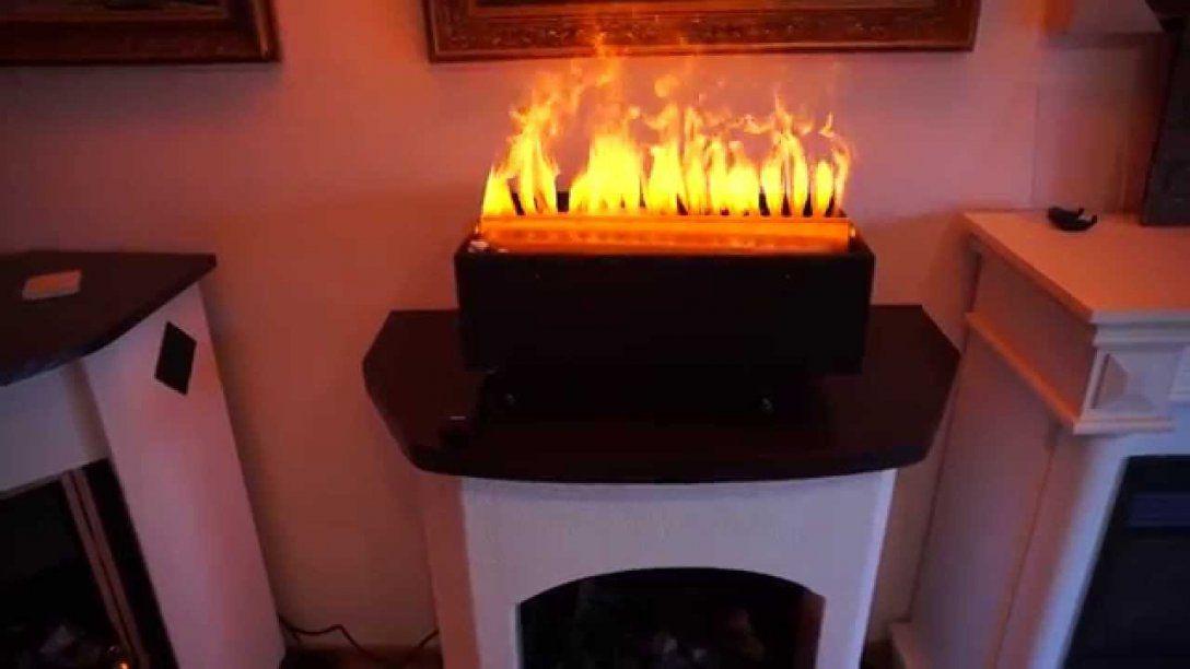 Elektroholzfeuer E 2850 S 50Cm Breit Mit 3D Wasserdampf Von von Elektrokamine Mit Wasserdampf Feuer Bild