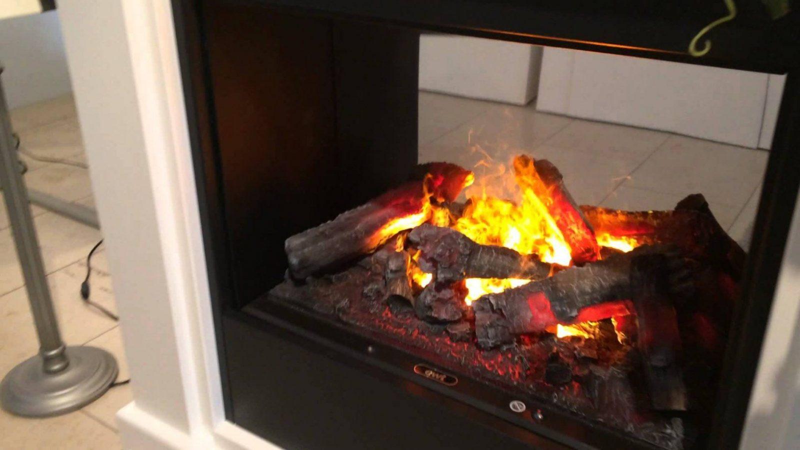 Elektrokamin Monaco Mit Optimyst 3D Feuer Und 2 Zuschaltbaren von Elektrokamine Mit Wasserdampf Feuer Photo