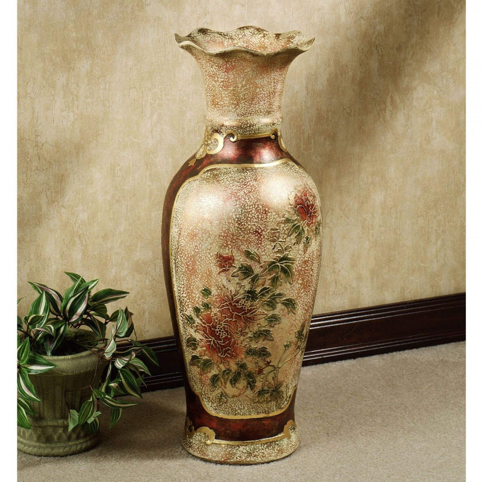 Elysian Blooming Floor Vase  Urn Porcelain And Decorating von Very Tall Floor Vases Photo