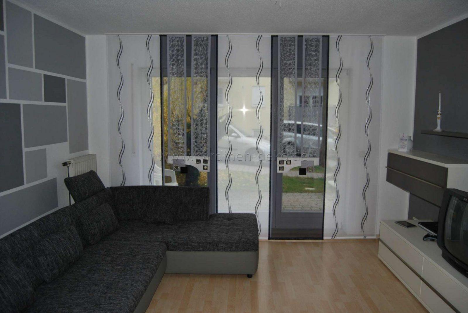 neue gardinen f rs wohnzimmer haus design ideen. Black Bedroom Furniture Sets. Home Design Ideas
