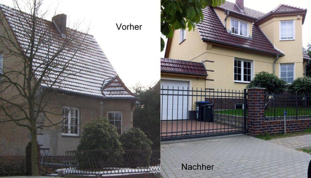 Emejing Hausbau Vorher Nachher Contemporary  Kosherelsalvador von Haus Umbauen Vorher Nachher Photo