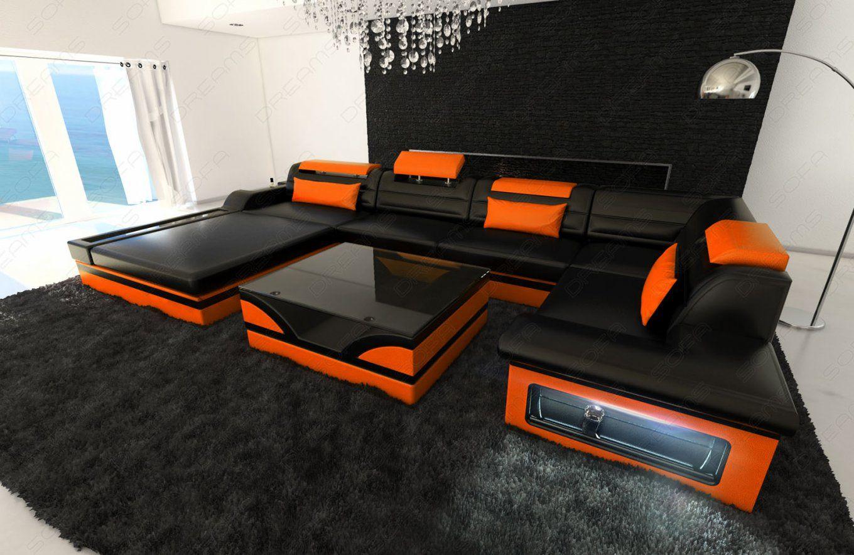 Encantador Sofa Xxl U Form 9  Designsofa Luxus Wohnlandschaft von Xxl Wohnlandschaft U Form Bild