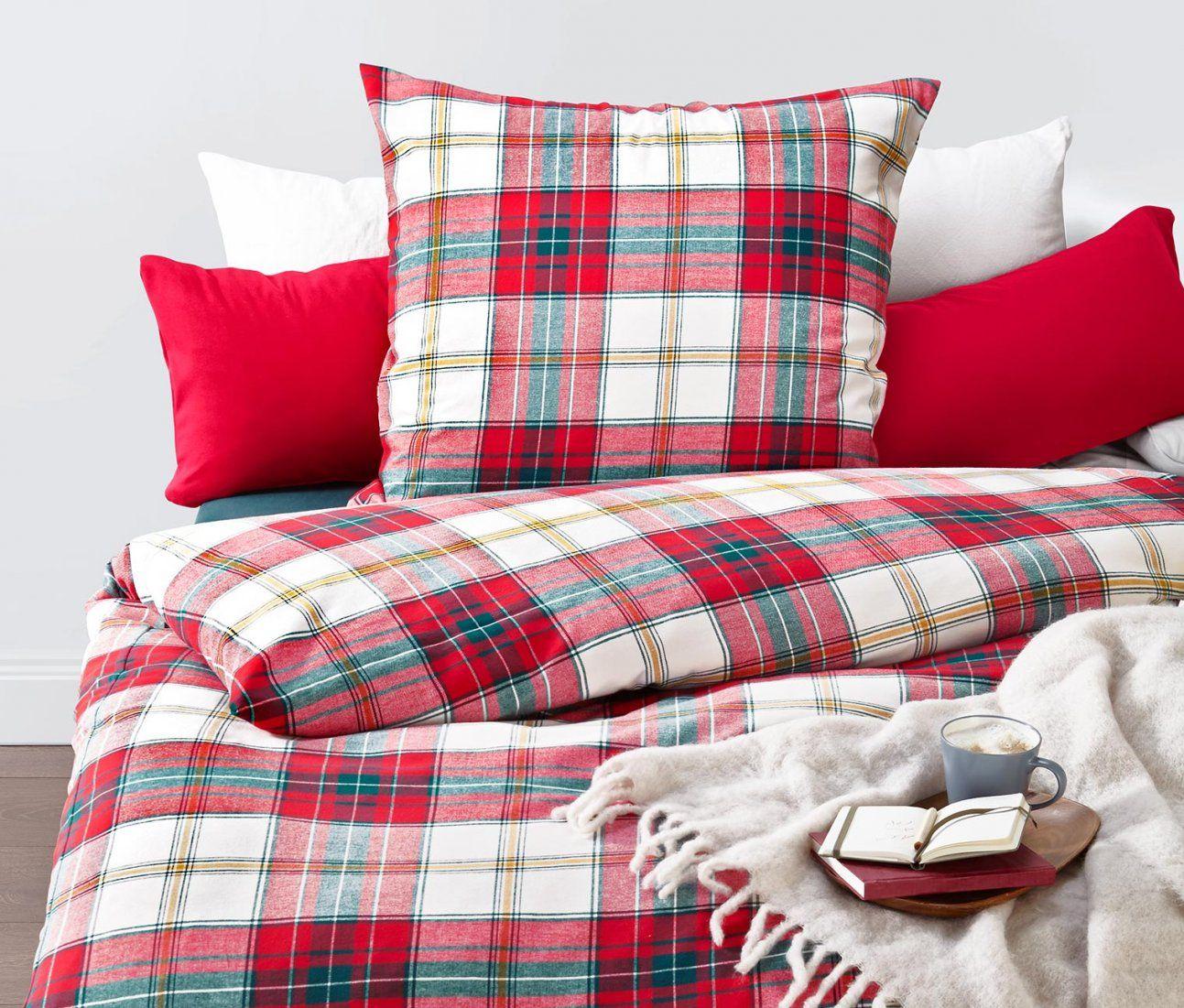 Enjoyable Bettwasche Flanell  Wwwkhoddam von Tchibo Bettwäsche 155X220 Bild