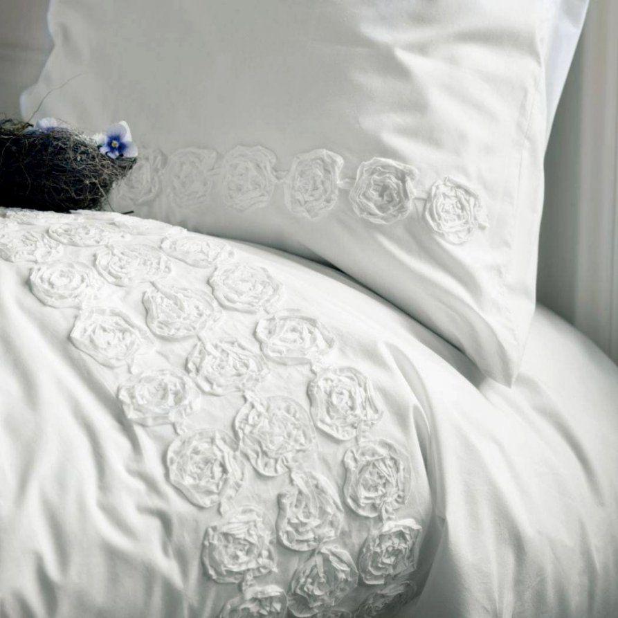 Enorm Weiße Bettwäsche Mit Rüschen Bettwasche Weis Ruschen von Bettwäsche Mit Rüschen Photo