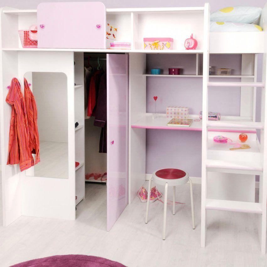 Entzückende Inspiration Hochbett Mit Schrank Und Schreibtisch von Kinderbett Mit Schreibtisch Und Kleiderschrank Bild