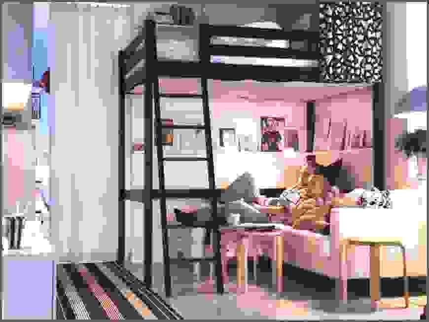 Ernsthaft Stilvolle Hochbetten Für Erwachsene Um Den Raum Zu Von von Hochbett Für Erwachsene Ikea Photo
