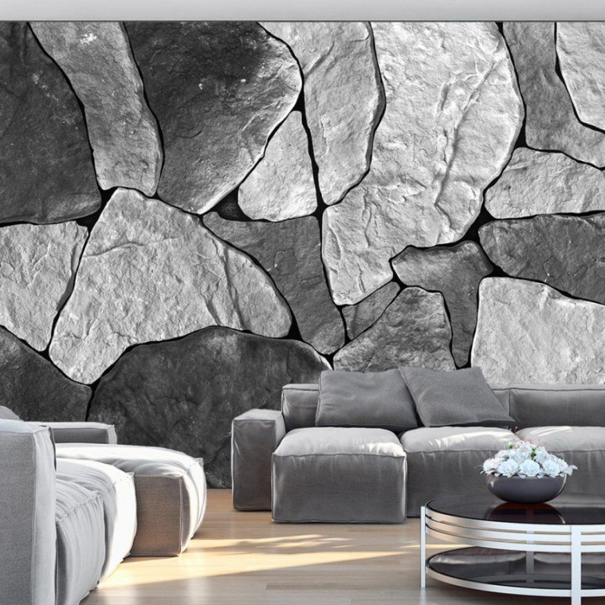 Erstaunlich 3D Tapete Stein Innenarchitektur Imposing Fototapete 3D von Fototapete 3D Stein Tapete Bild