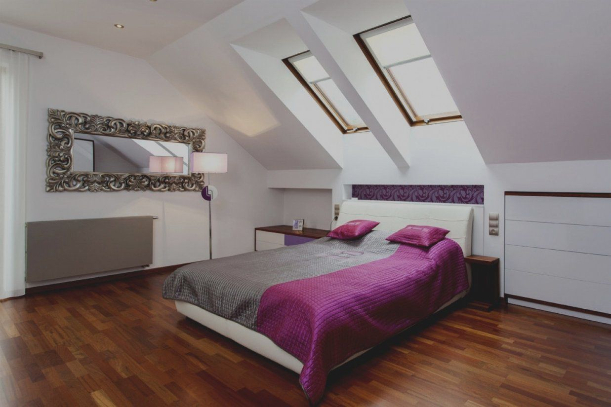 ... Erstaunlich Farbe Schlafzimmer Dachschrge Wunderbare Ideen Von  Schlafzimmer Dachschräge Farblich Gestalten Bild ...