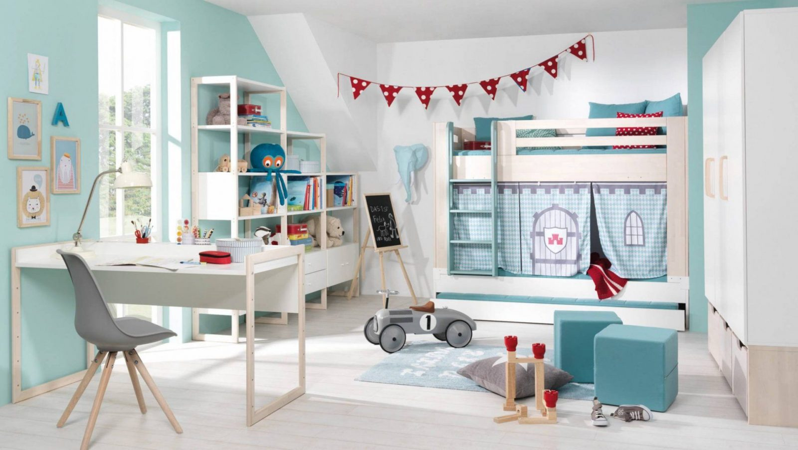 Wunderbar Erstaunlich Kinderzimmer Einrichten Ikea Ikea Quadratmeterchallenge Von Kleines  Kinderzimmer Einrichten Ikea Bild