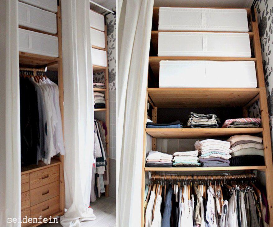 offener kleiderschrank mit vorhang haus design ideen. Black Bedroom Furniture Sets. Home Design Ideas