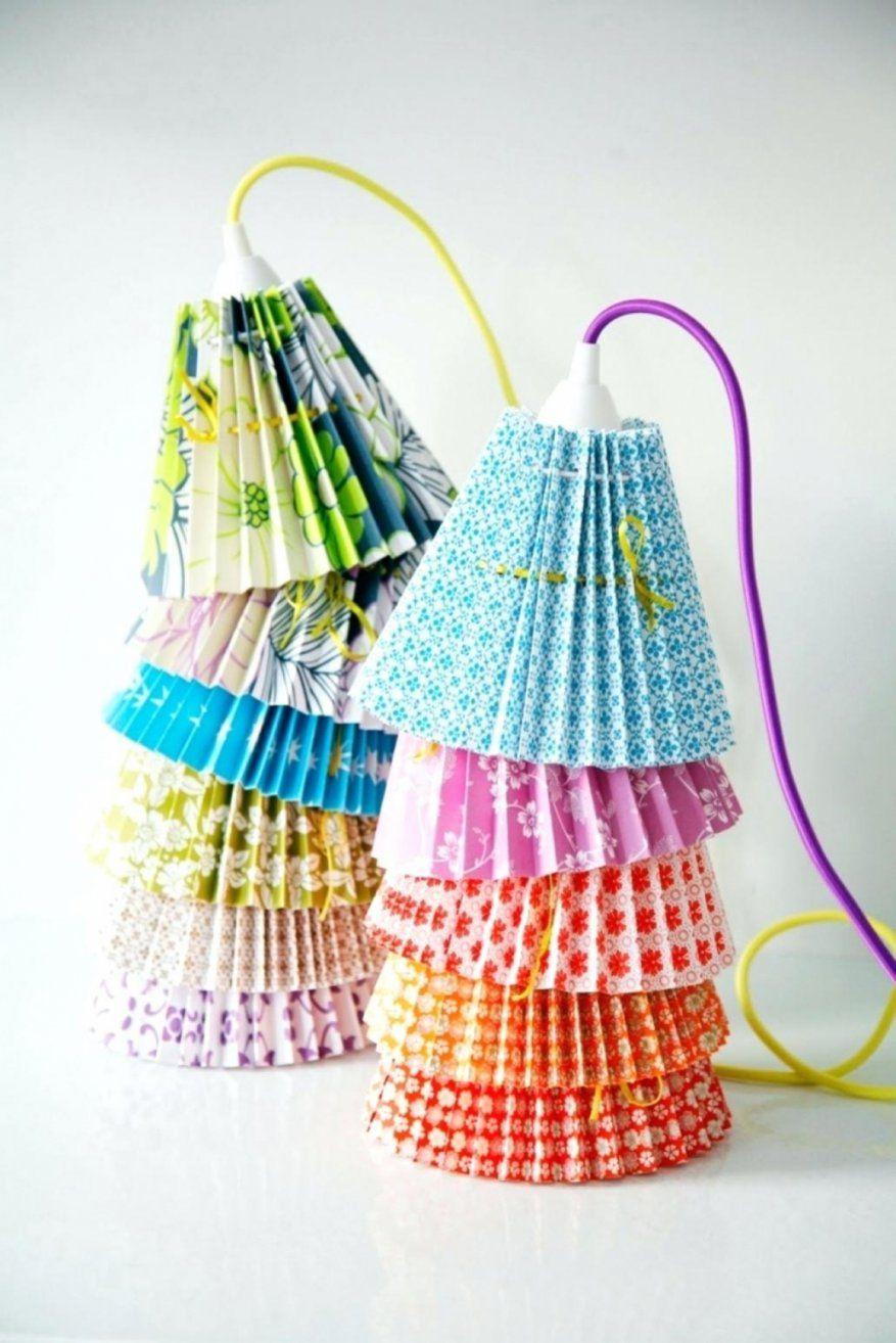 erstaunlich lampenschirm selber machen stoff lampenschirm selber von