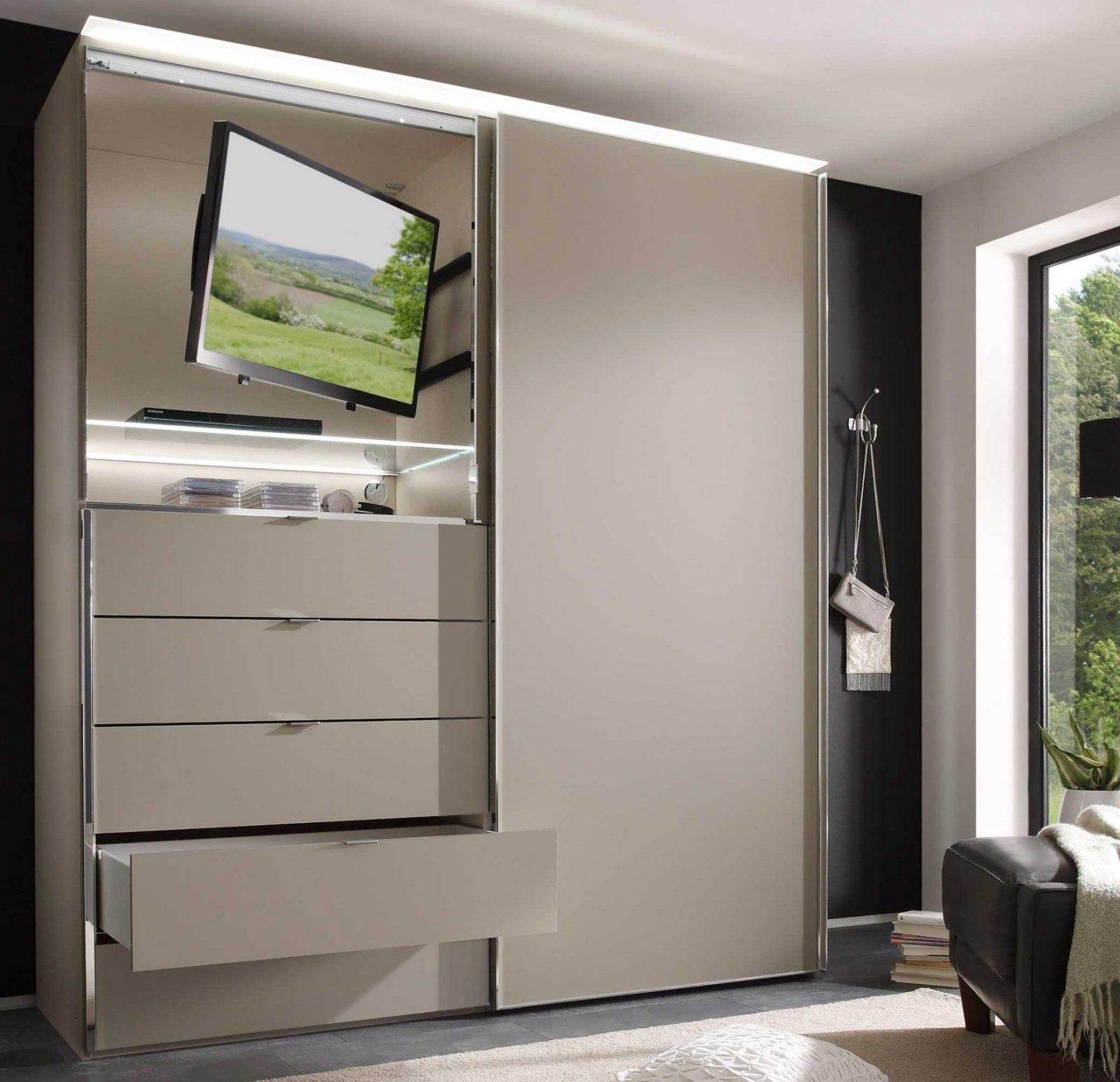 Erstaunlich Mit Fernsehfach Kleiderschrank Hausliche Verbesserung von Kleiderschrank Mit Tv Aussparung Photo