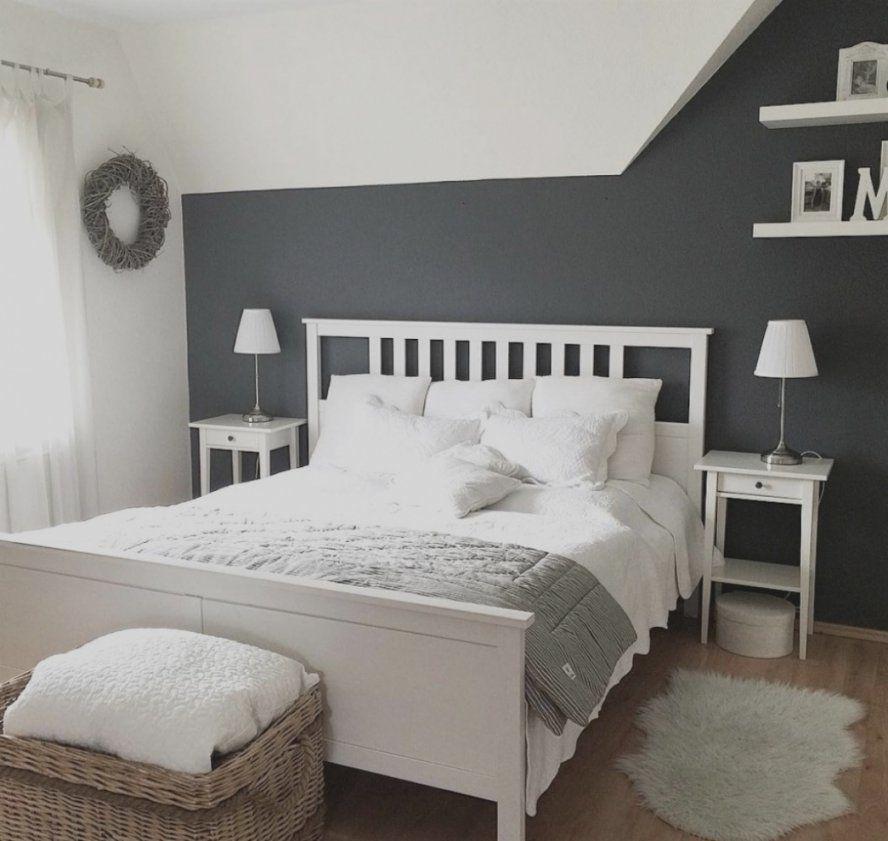 Erstaunlich Schlafzimmer Grau Ideen Bett 003 Haus Design  Home von Schlafzimmer In Weiß Einrichten Photo