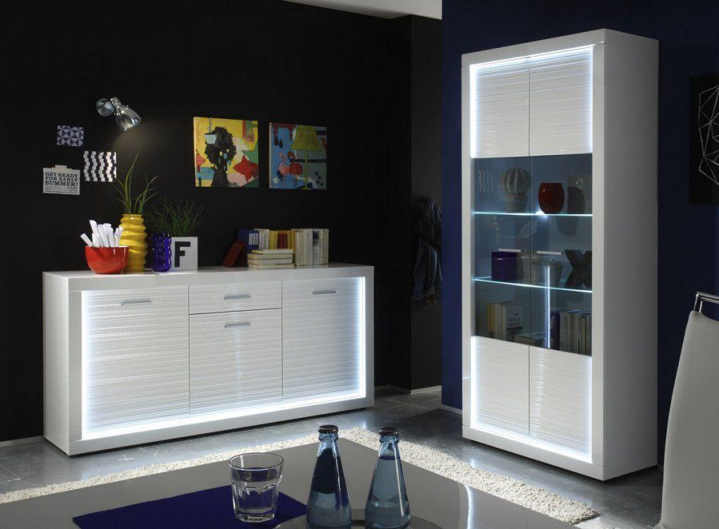 Erstaunlich Wohnzimmer Vitrine Weiß Hochglanz 7372 von Wohnzimmer Vitrine Weiß Hochglanz Bild