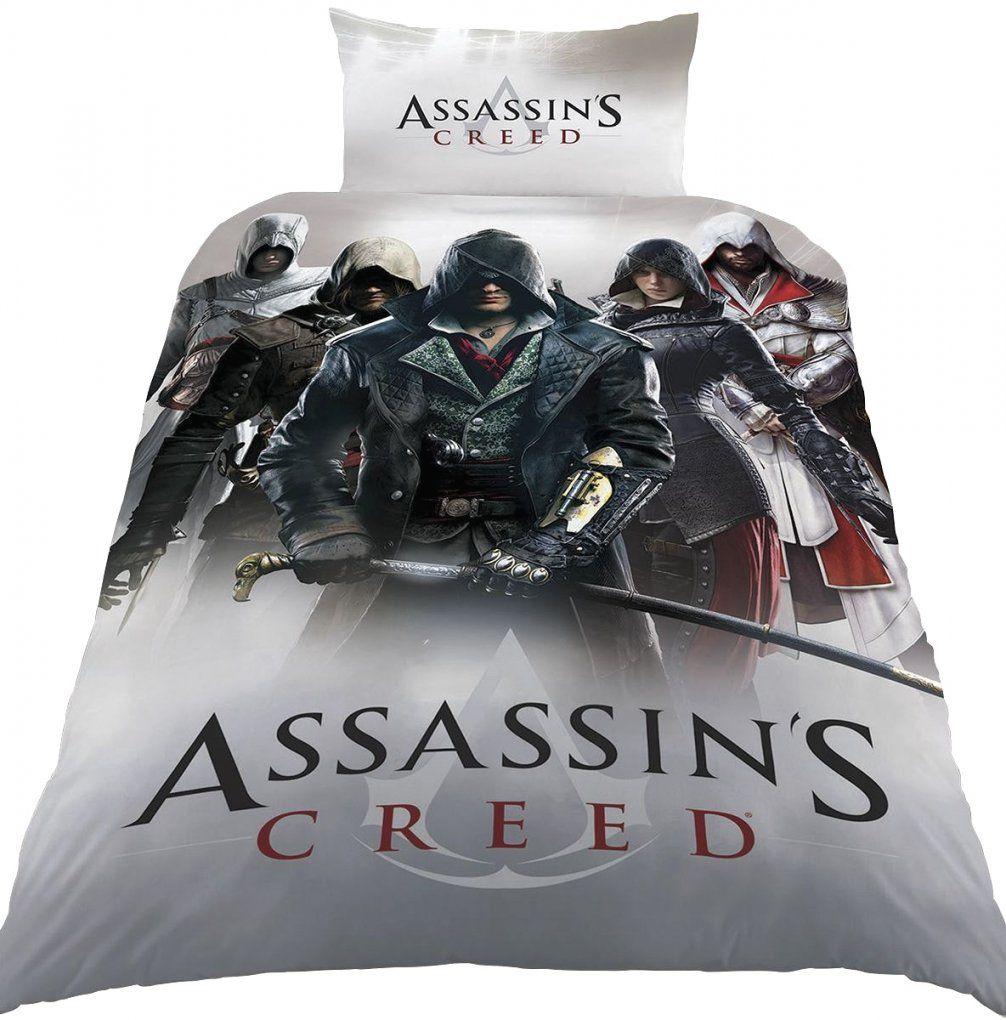 Erstaunliche Inspiration Assassins Creed Bettwäsche Und von Assassins Creed Bettwäsche Bild