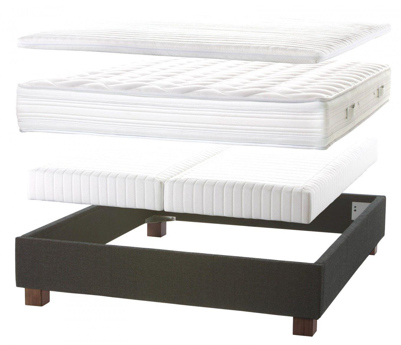 Erstaunliche Inspiration Boxspring Matratze Für Normales Bett Und von Boxspringmatratze In Normales Bett Bild