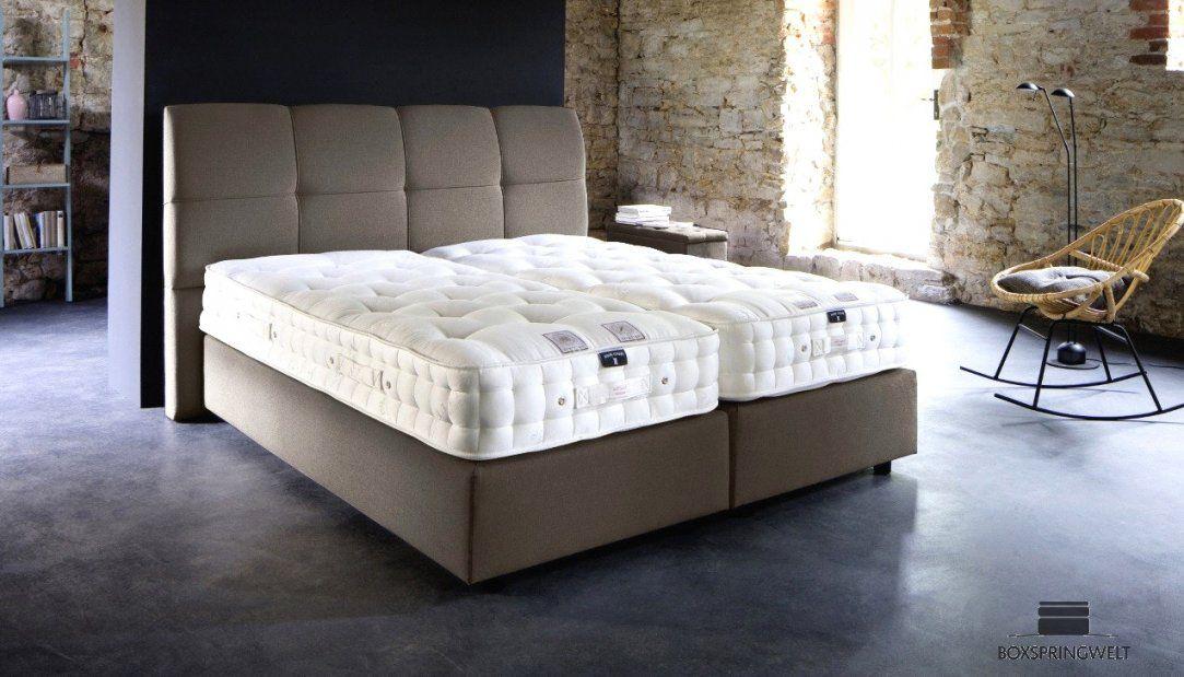 Erstaunliche Inspiration Luxus Boxspringbett  Alle Betten von Luxus Boxspringbett Von Welcon Bild