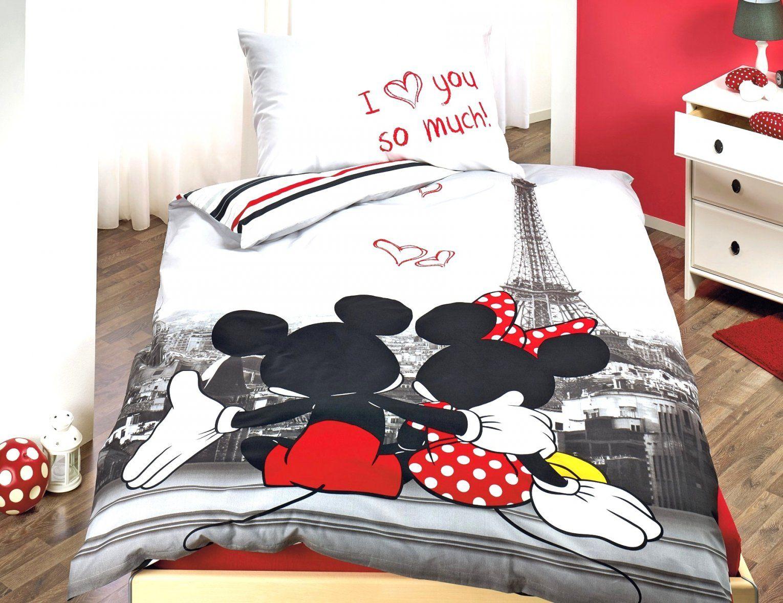 Erstaunliche Inspiration Micky Maus Bett  Alle Betten von Mickey Mouse Bettwäsche 200X200 Bild
