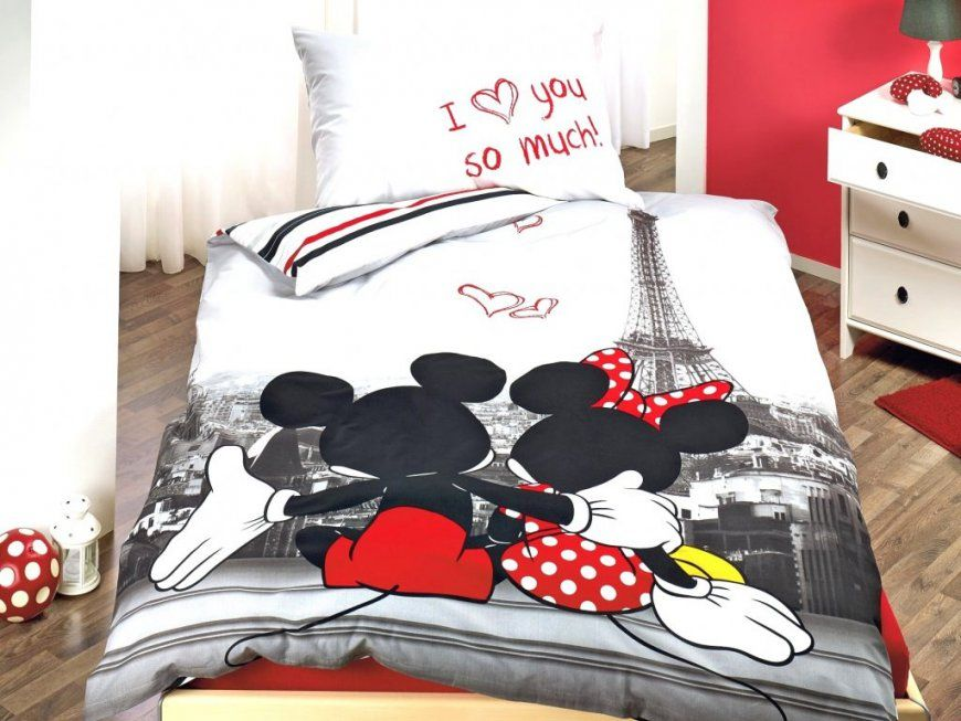 micky und minni maus bettw sche haus design ideen. Black Bedroom Furniture Sets. Home Design Ideas