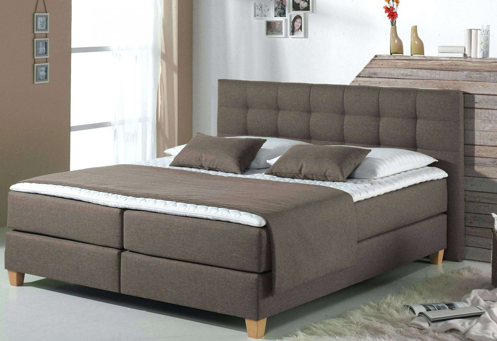 boxspringbett xxl mann mobilia haus design ideen. Black Bedroom Furniture Sets. Home Design Ideas