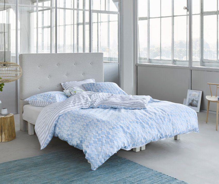 Esprit Mako Satin Bettwäsche Krisa Blue  Markenqualität Zu Fairen von Esprit Bettwäsche Mako Satin Photo