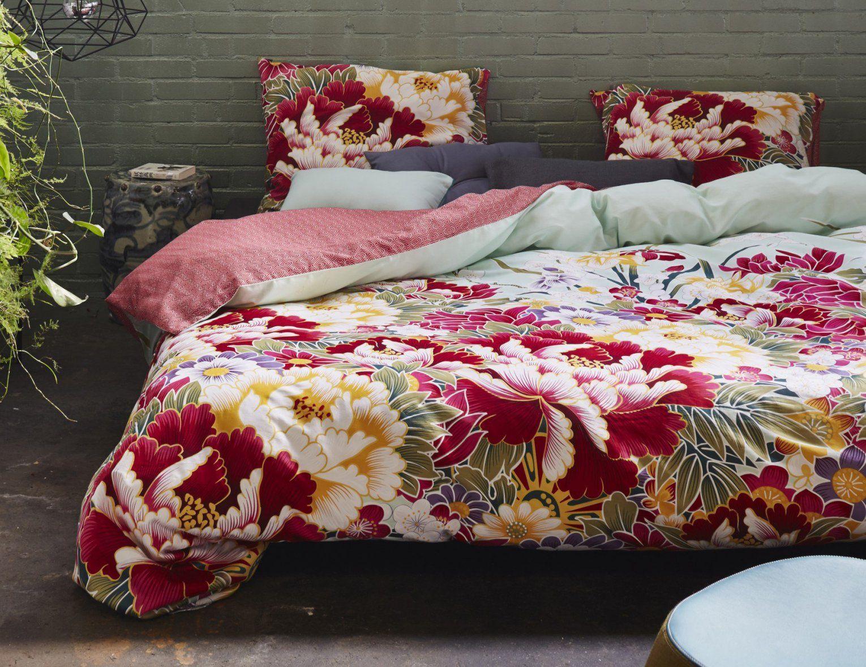 Essenza Bettwäsche Blumenmotiv Japanisch Günstig  Bettwaeschech von Bettwäsche Japanische Motive Photo