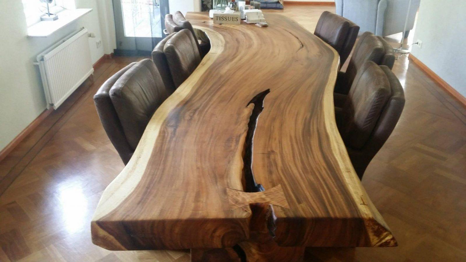 Esstisch Selber Bauen Ehrfürchtig Baumstamm Tisch Selber Machen von Tisch Aus Baumstamm Selber Machen Bild