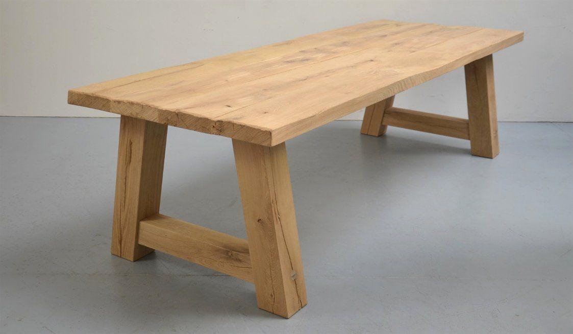 Esstisch Selber Bauen Rustikal Mit  Die Besten 25 Tisch von Rustikaler Holztisch Selber Bauen Photo