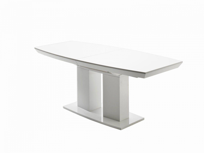 Esstisch Weiß Hochglanz 140 Frisch Tisch Weiß Ausziehbar 30 Top Das von Esstisch Ausziehbar Weiß Hochglanz 140 Bild