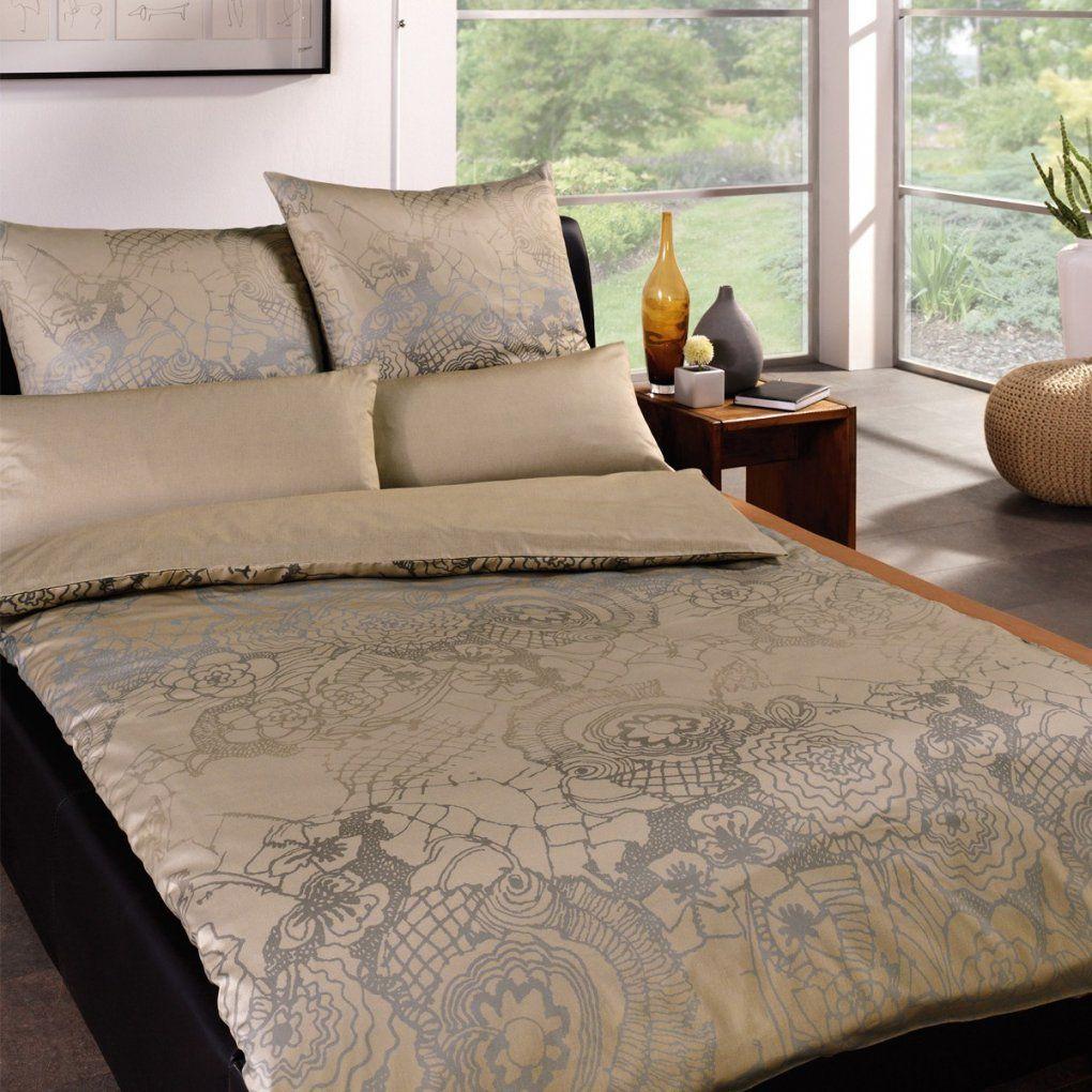 Estella Schweizer Premium Satin Bettwäsche Elegance 2010295 Taupe von Estella Satin Bettwäsche Photo