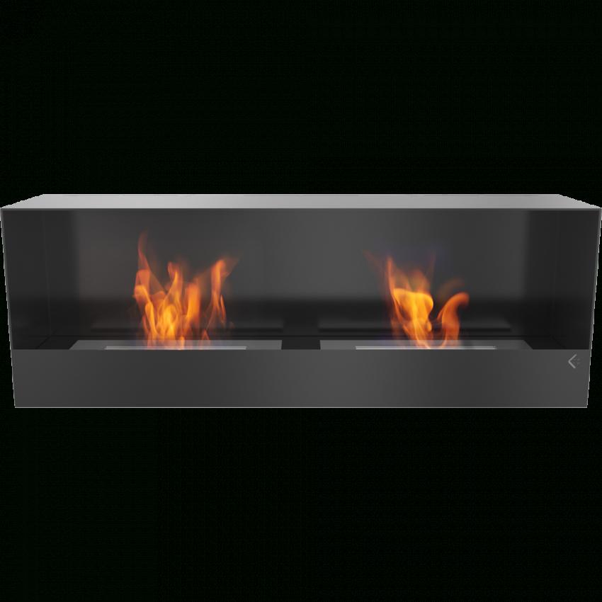 Ethanolkamin Modell Quebec In Schwarz von Kamin Ohne Echtes Feuer Photo