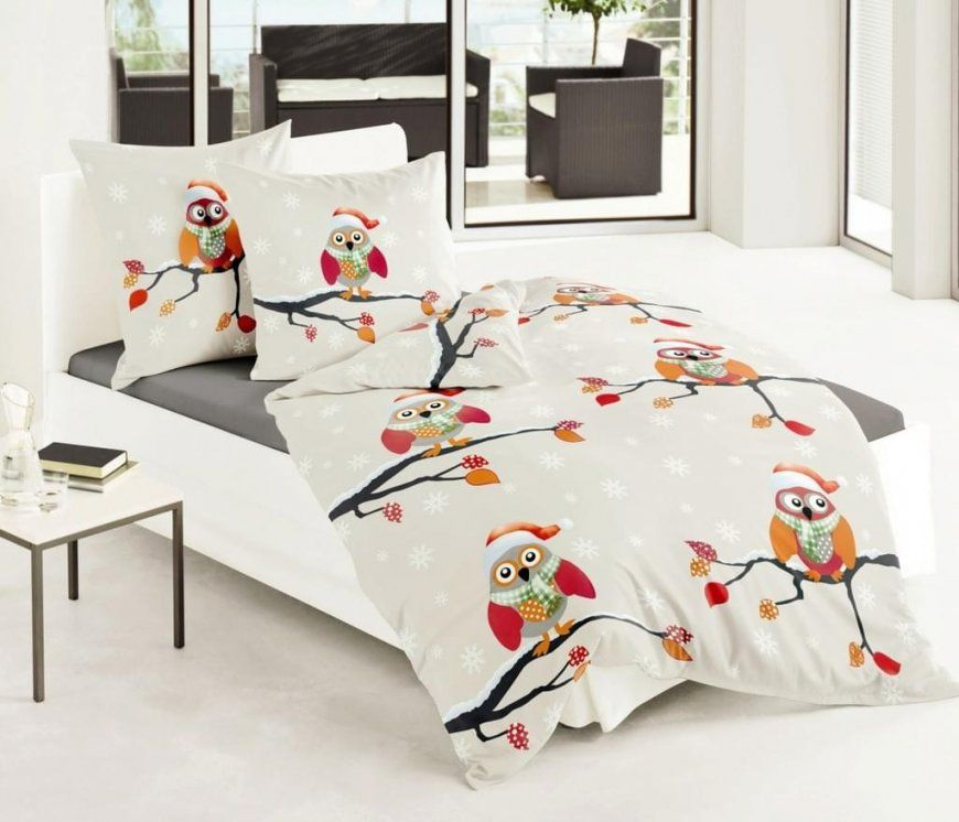 Eulen Bettwäsche Günstig Online Kaufen  Real von Bettwäsche Mit Eulenmotiv Bild