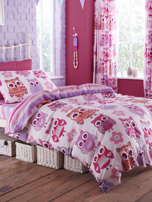 Eulen Bettwäsche Pink  Conferentieproeftuinen von Eulen Bettwäsche Biber Bild