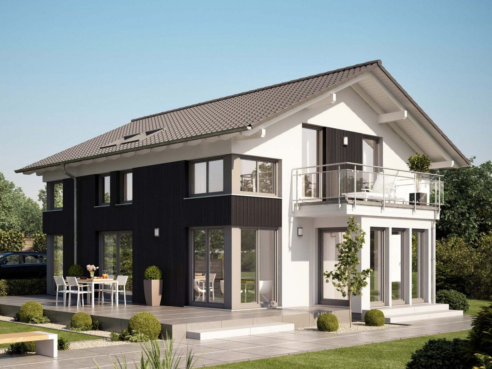 Evolution 154 V3 • Einfamilienhaus Von Bienzenker • Helles Elegant von Bien Zenker Evolution 154 Bild