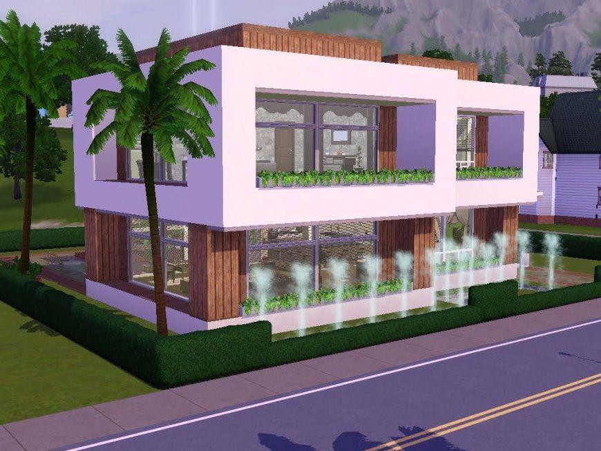 Exquisit Sims 4 Haus Ideen 3 Bauen Let S Build Schick Und Modern Auf von Sims 4 Häuser Bauen Ideen Photo